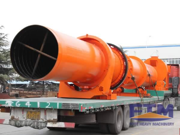 Coconut Shell Dryer Shipment