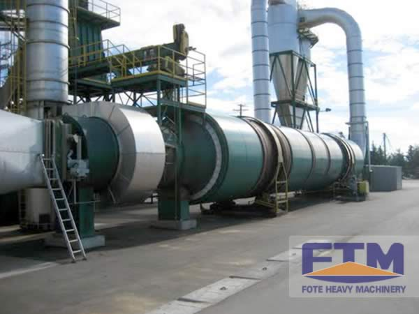 Oil Palm Fiber Dryer Shipment