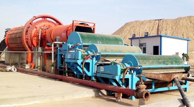 Magnetic Mineral Processing Line